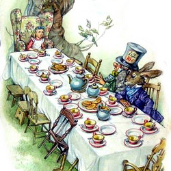 Lewis Carroll: Alices Adventures in Wonderland - The Cheshire Cat & A Mad Tea Party.