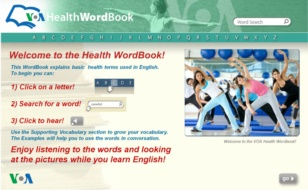 The VOA Health Wordbook
