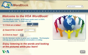 The VOA Interactive Wordbooks